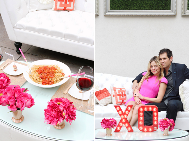 Valentine S Day Dinner For Laurenconrad Kristi Murphy Diy Blog