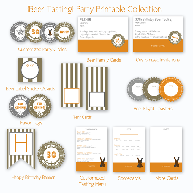 Instructions for a Barley & Hops Craft Candles Beer Tasting Party This is how we do it! Yes, you are at the right place. This is a tutorial all about how to throw a killer craft beer tasting party.