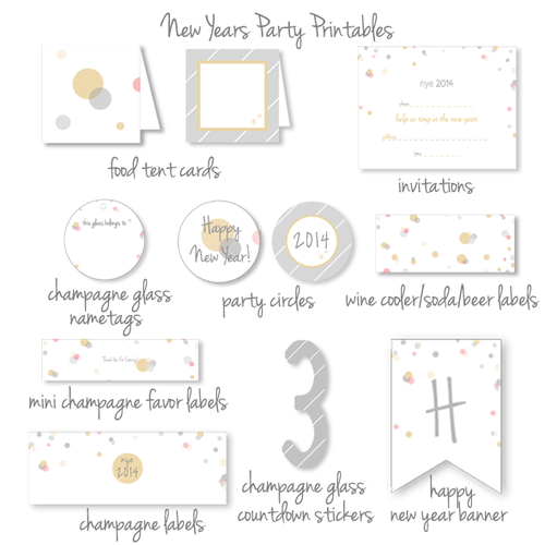 new years eve party printables kristimurphycompng