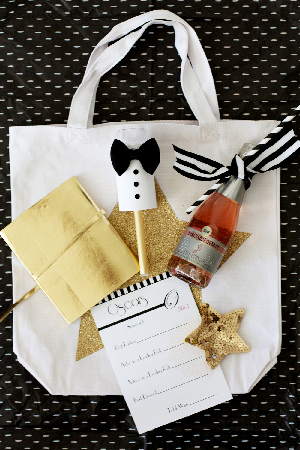 Oscars Party Swag Bag Ideas