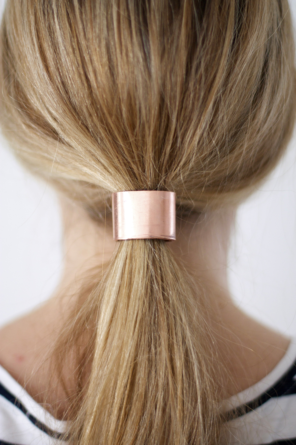 Copper Pipe Hair Cuff