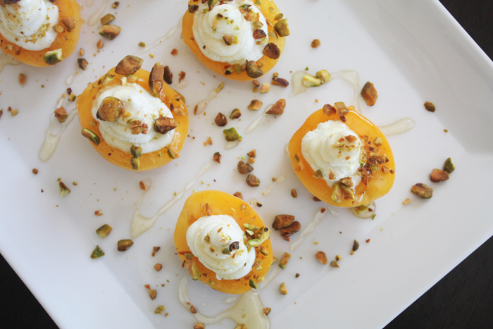 Apricot + Goat Cheese Appetizer