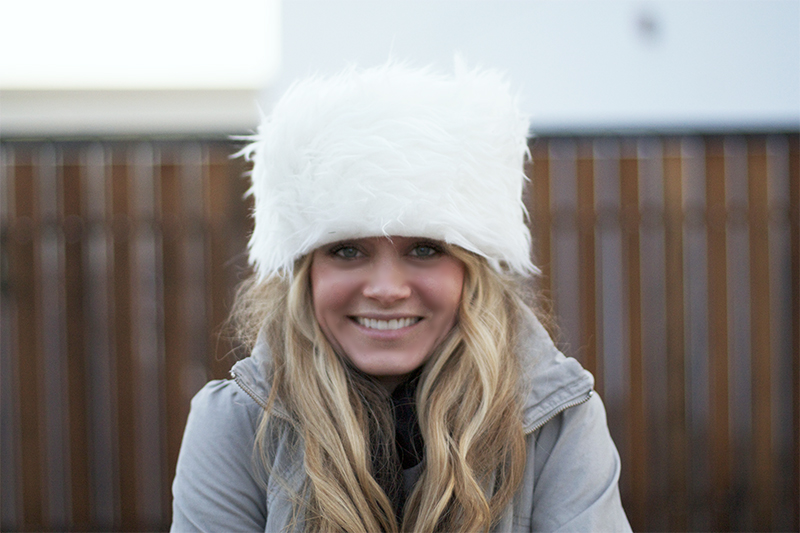 Faux Fur Hat IKEA Hack