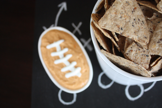 Healthy Football Dip