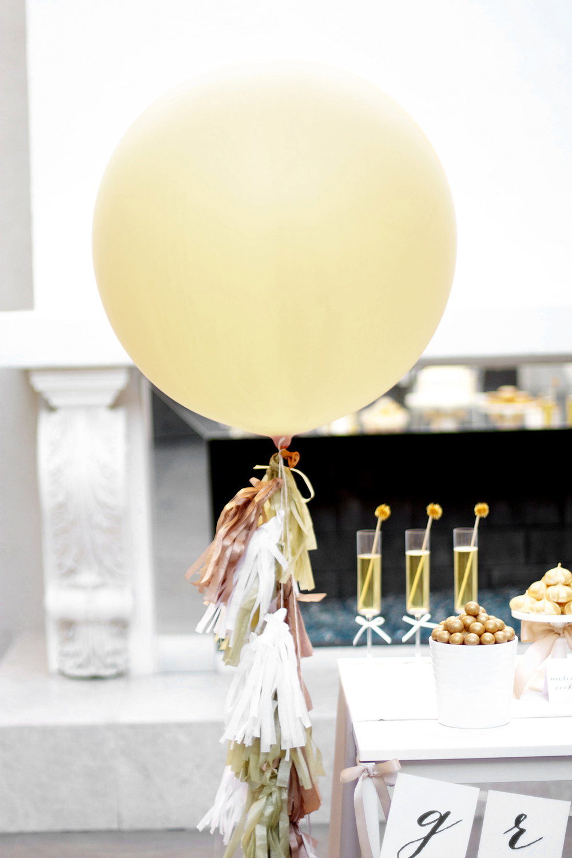 How To Make Balloon Tassels Kristi Murphy Diy Blog