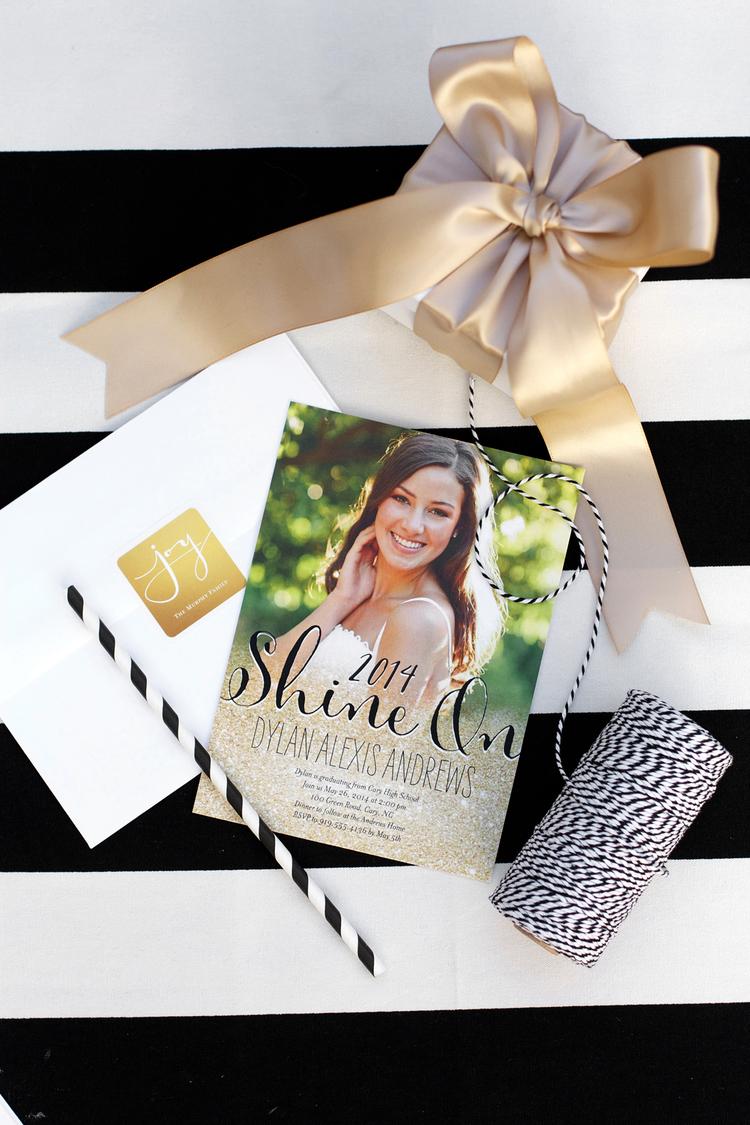 Sparkling Senior Graduation Party with Shutterfly Kristi Murphy – Homemade Graduation Invitations