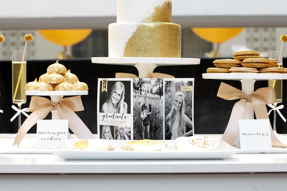 Graduation Dessert Tables