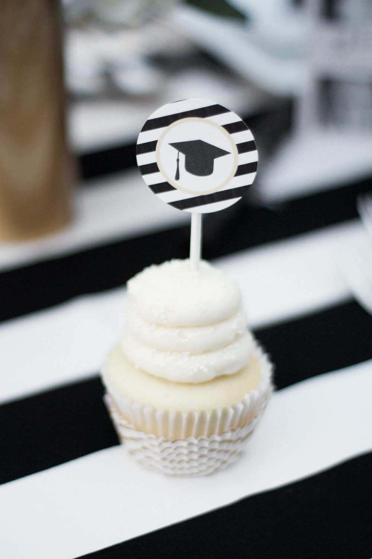 Printable Graduation Cupcake Toppers
