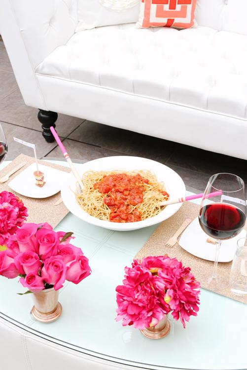 Valentine's Day Spaghetti