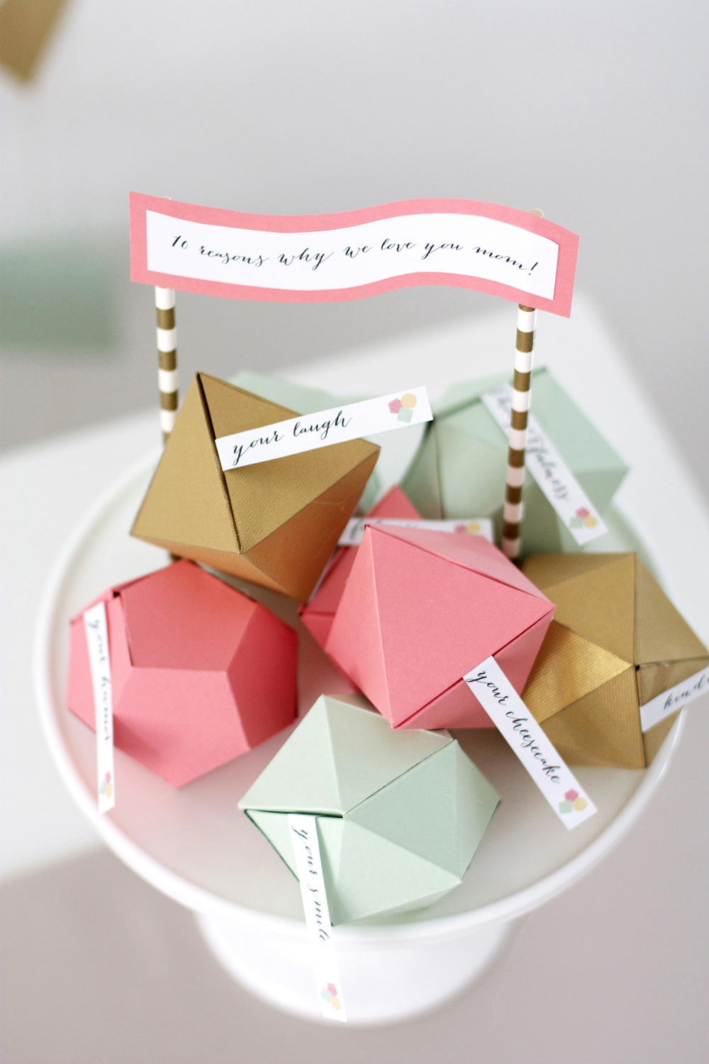 Geometric Mothers Day Surprise Kristi Murphy