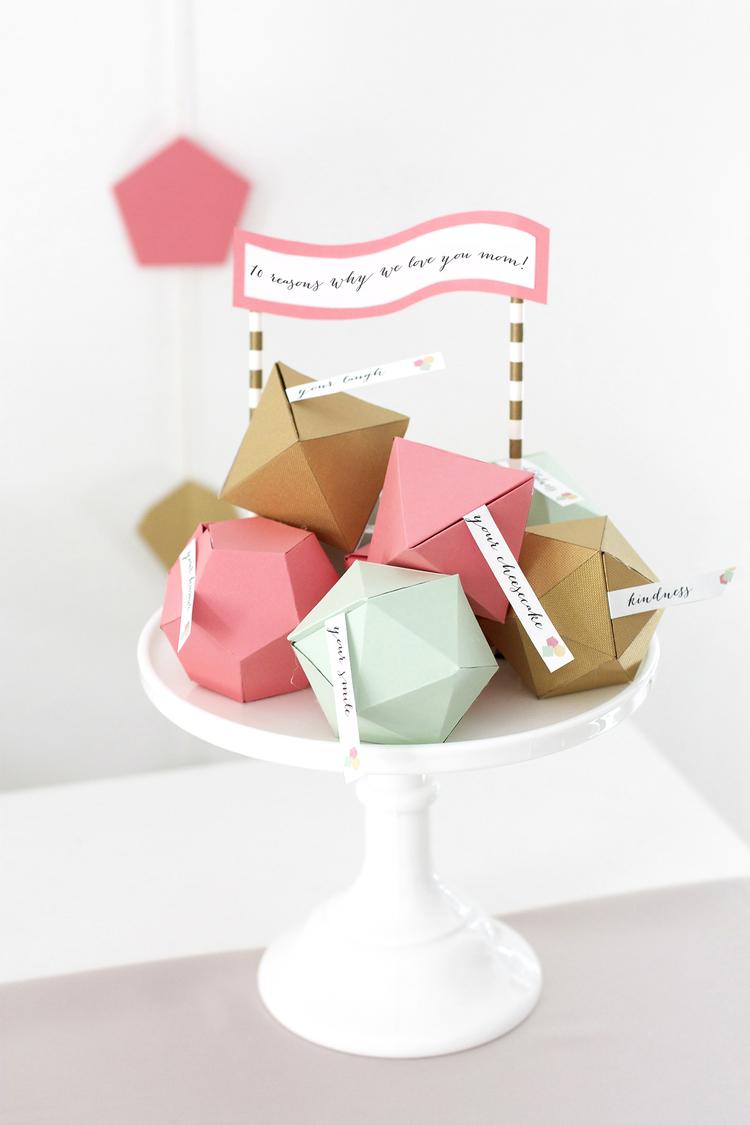 Geometric Mother\'s Day Surprise — Kristi Murphy | DIY Blog