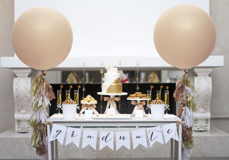 15 Sparkling Gold Graduation Party Ideas Kristi Murphy Diy Blog