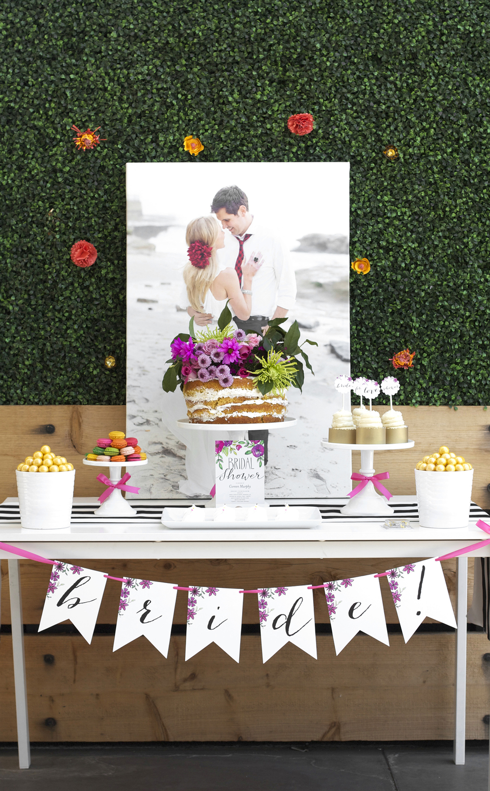 garden party bridal shower kristi murphy do it yourself blog