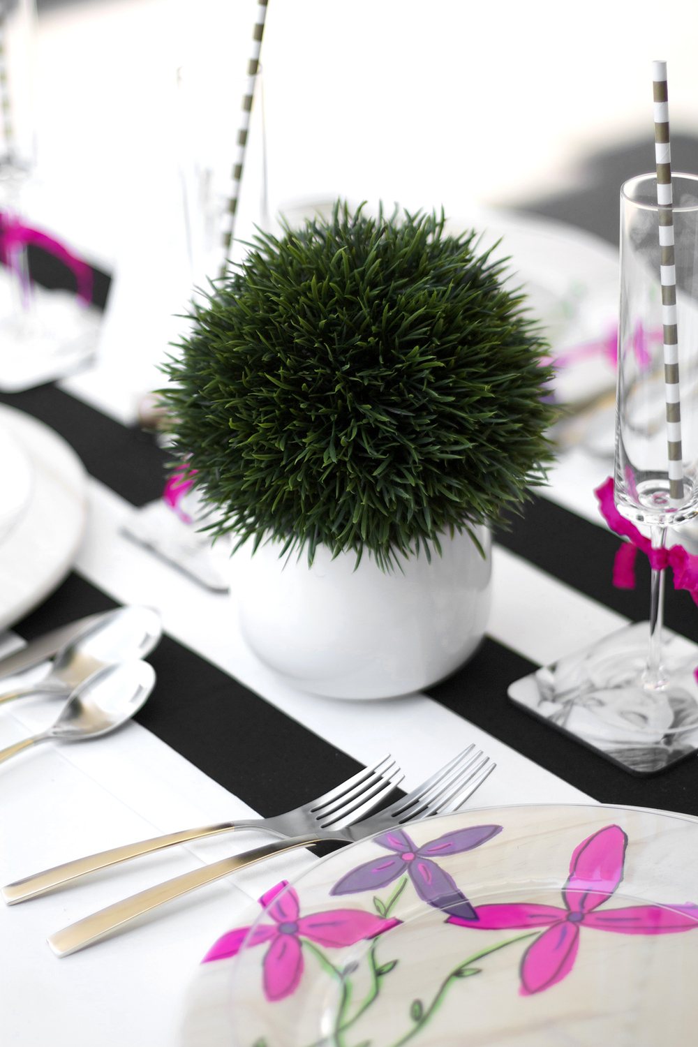 Garden Party Centerpiece