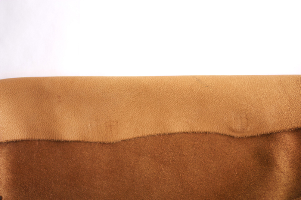 Beach Chair Gone Chic Leather Sling Back Leather Couch