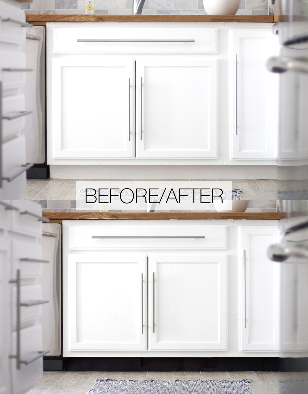 amazing Kitchen Cabinet Kick Plate #9: DIY, Kitchen, Toekick, Upgrades, Remodel