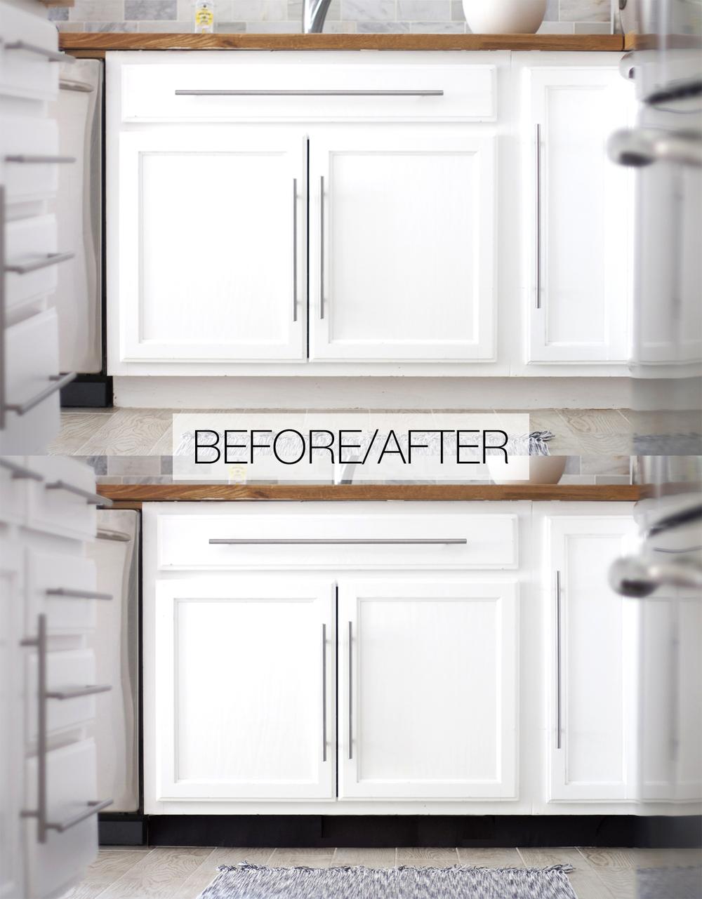 DIY, Kitchen, Toekick, Upgrades, Remodel