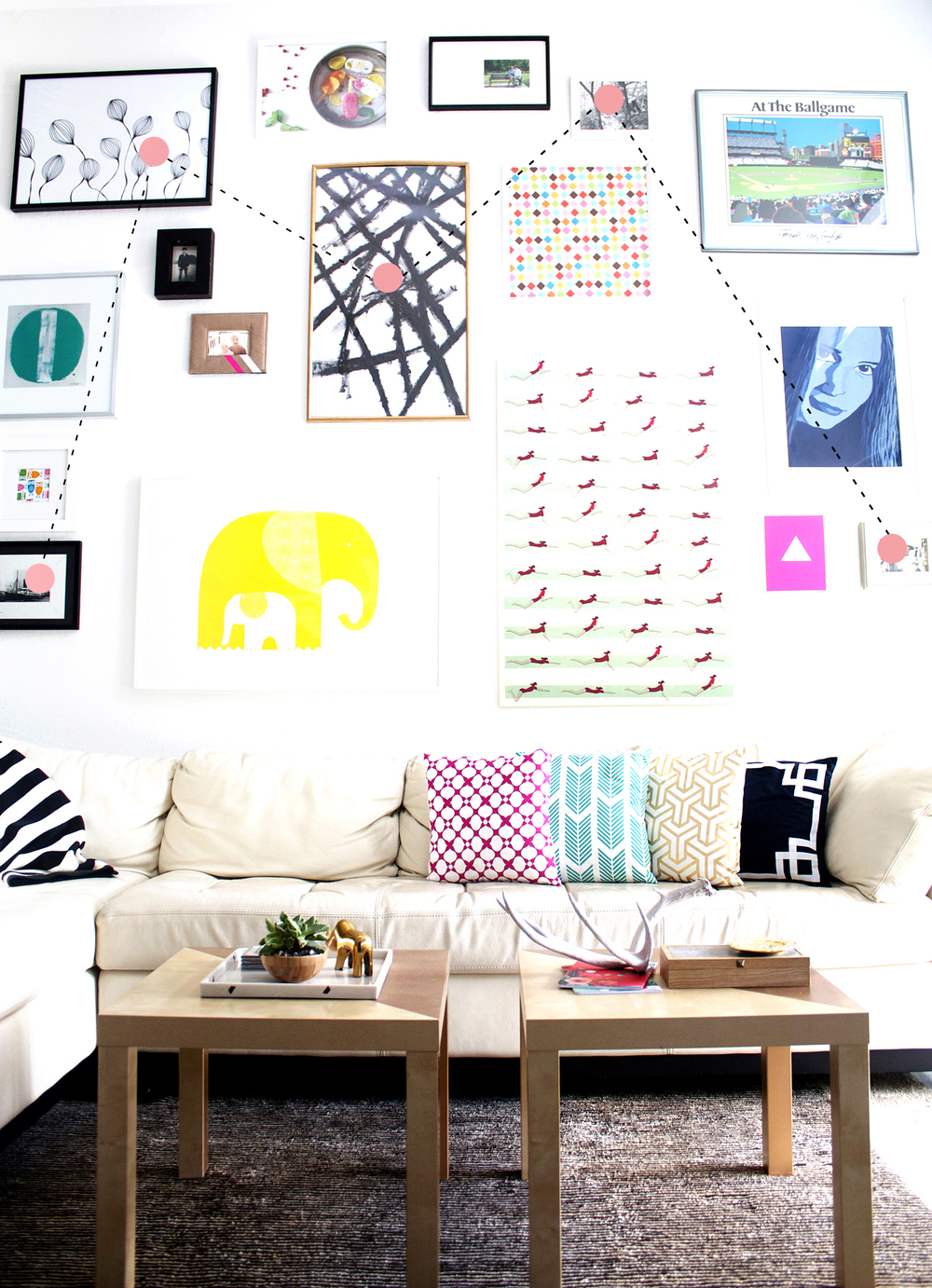 How To Do A Gallery Wall Kristi Murphy Do It Yourself Blog
