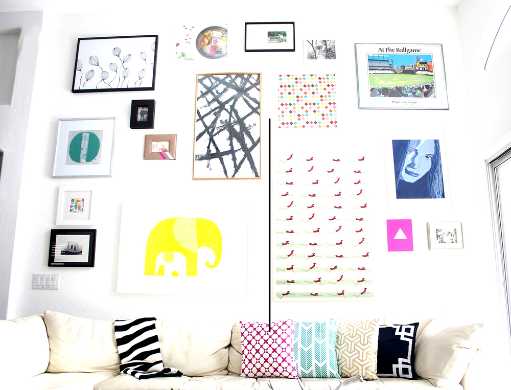 How To Gallery Wall
