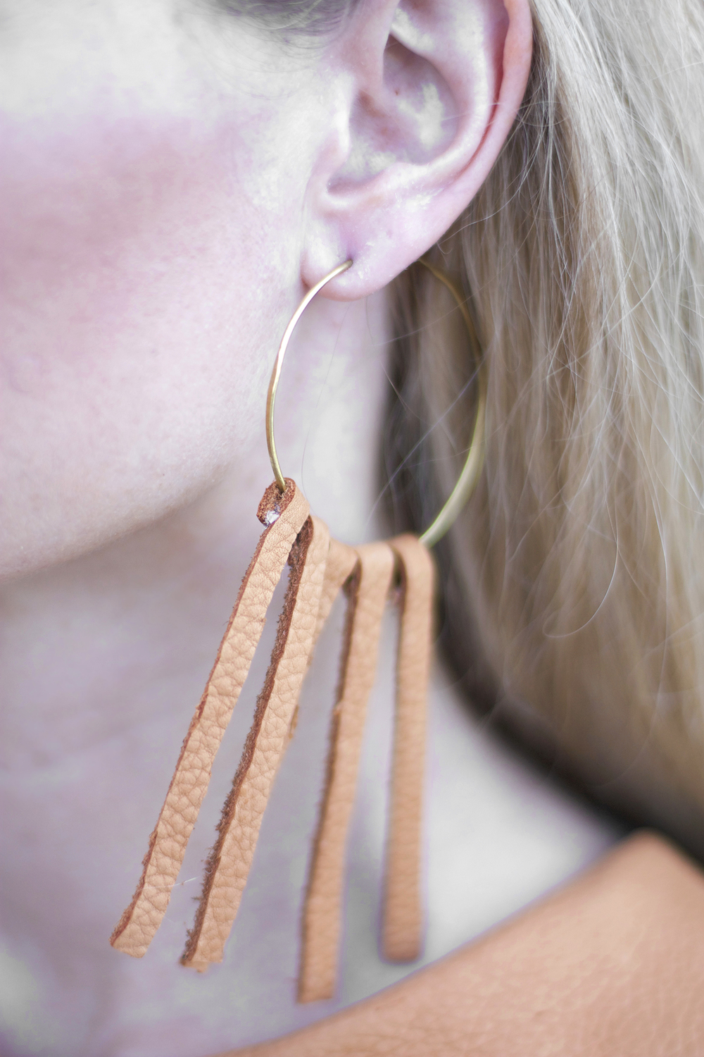 How To Make Fringe Earrings