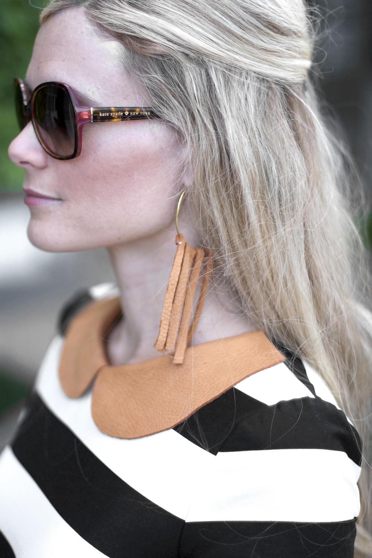 DIY Leather Fringe