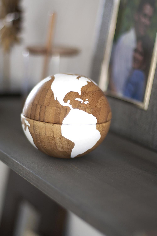 DIY Wooden Globe