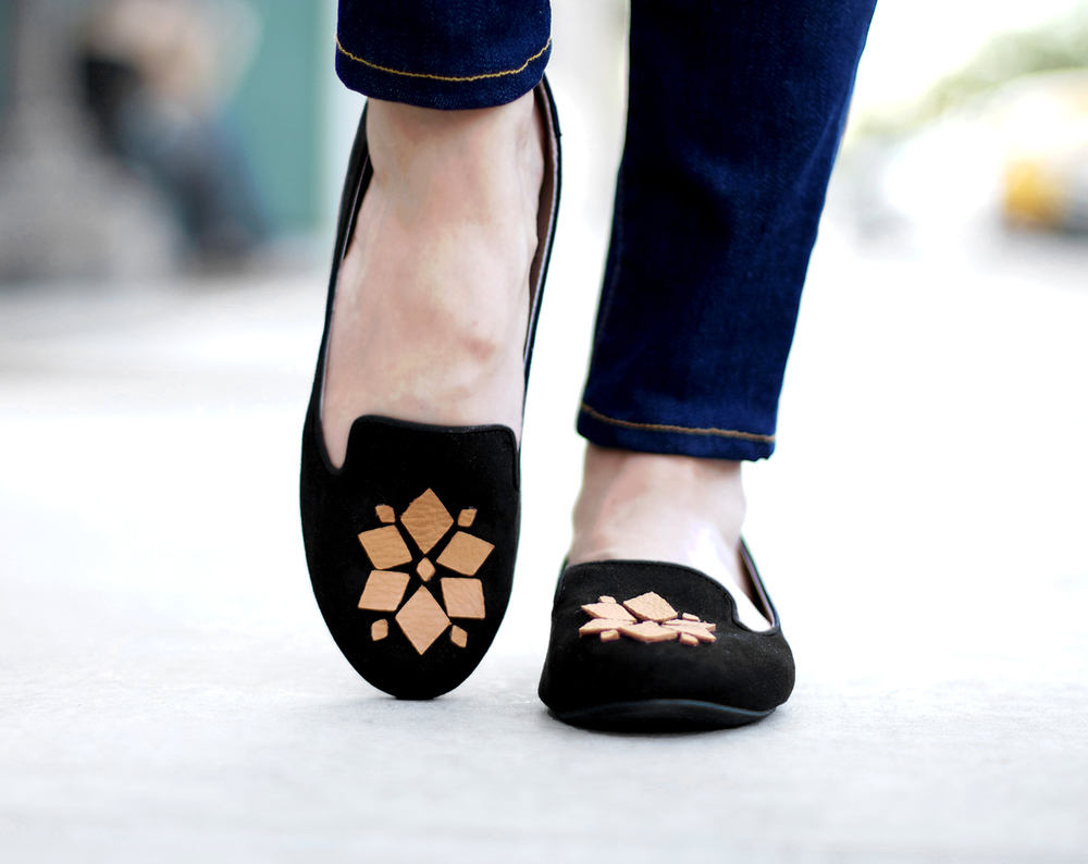 embellishing shoes
