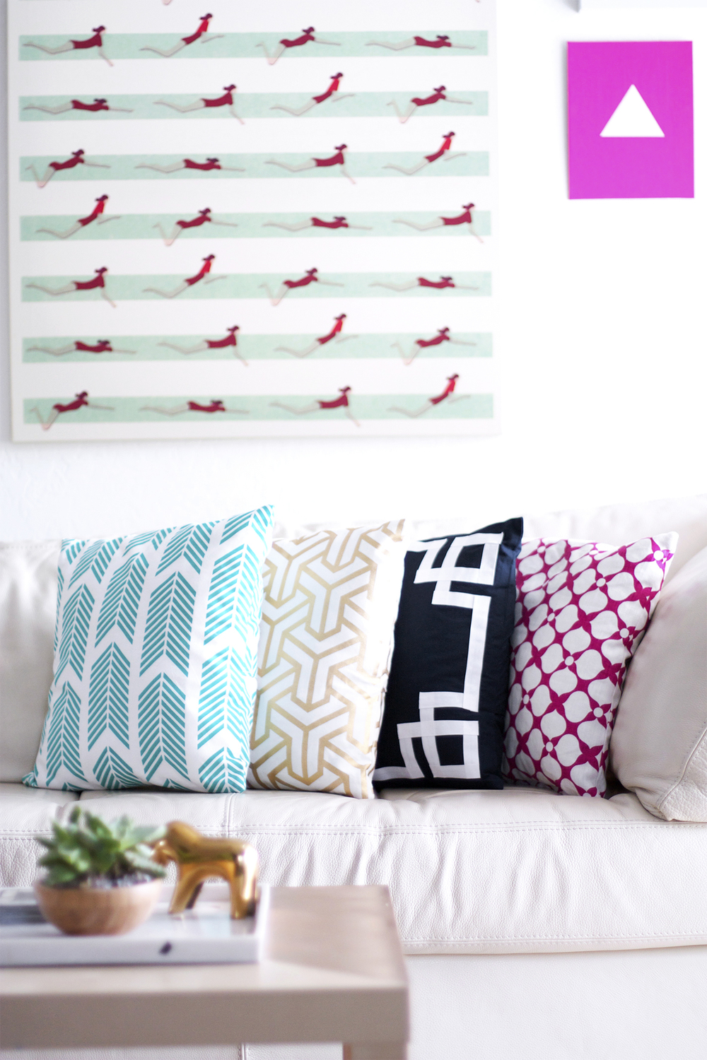 DIY envelope pillow