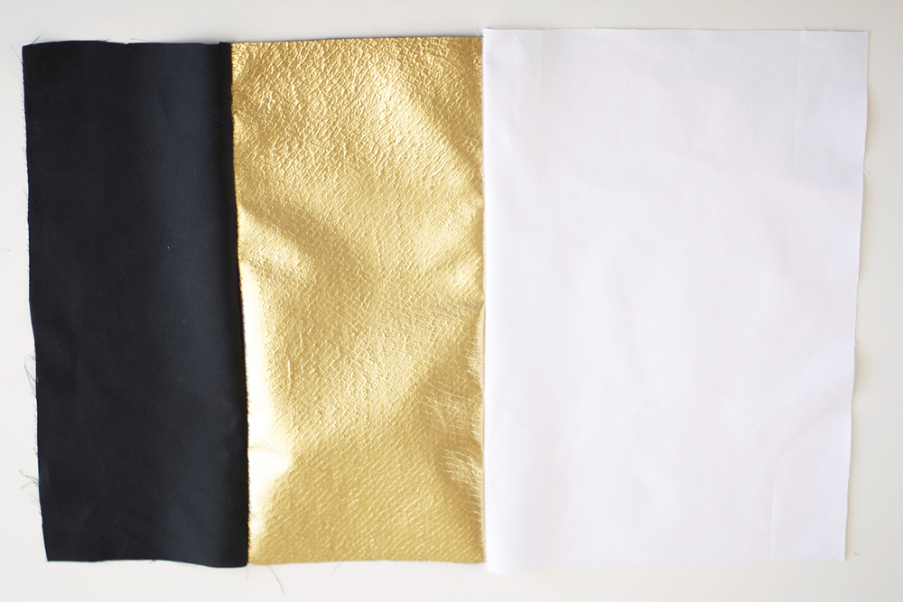gold pillow tutorial