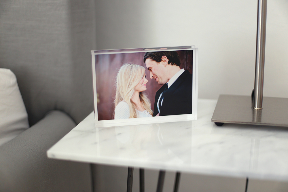 Shutterfly glass photos