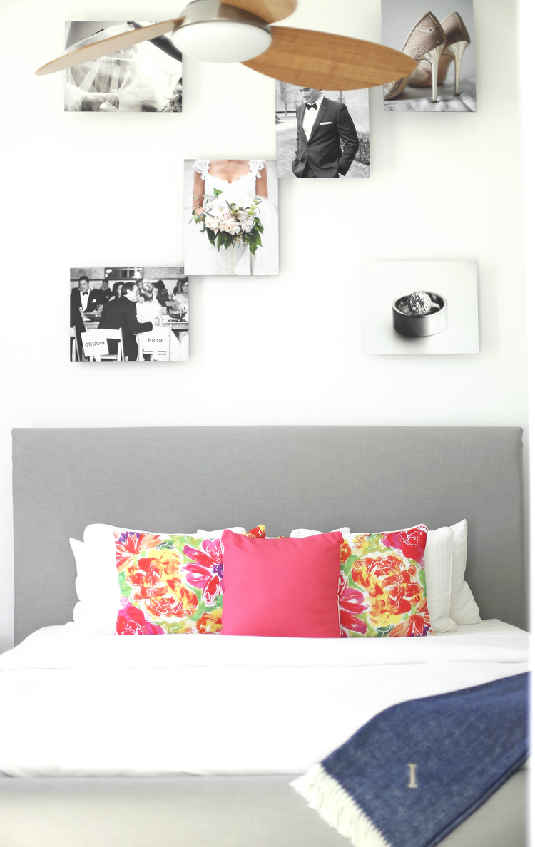 DIY Floating Gallery Wall