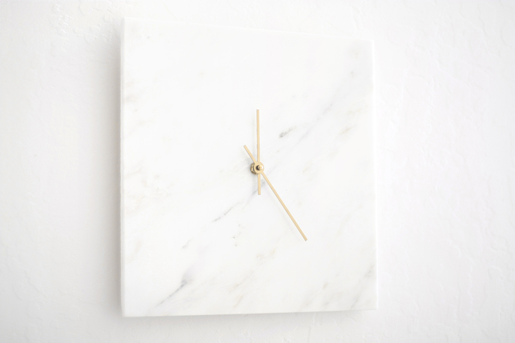 DIY Chick Marble Clock