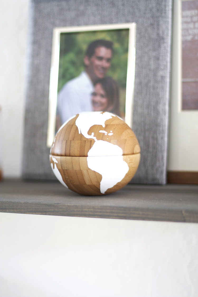DIY Globe with Two Ikea Bowls