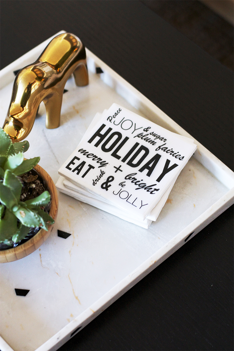 DIY holiday decorations