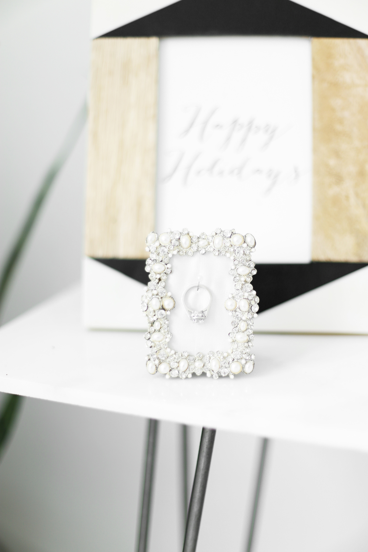 DIY engagement ring display