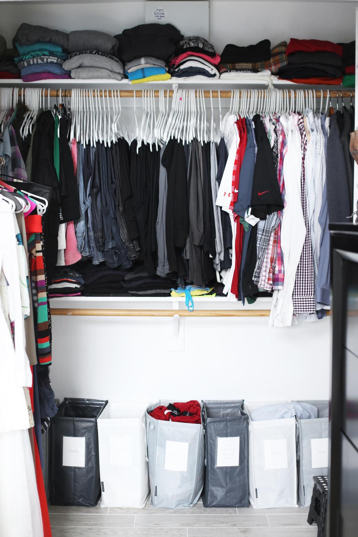 closet makeover before