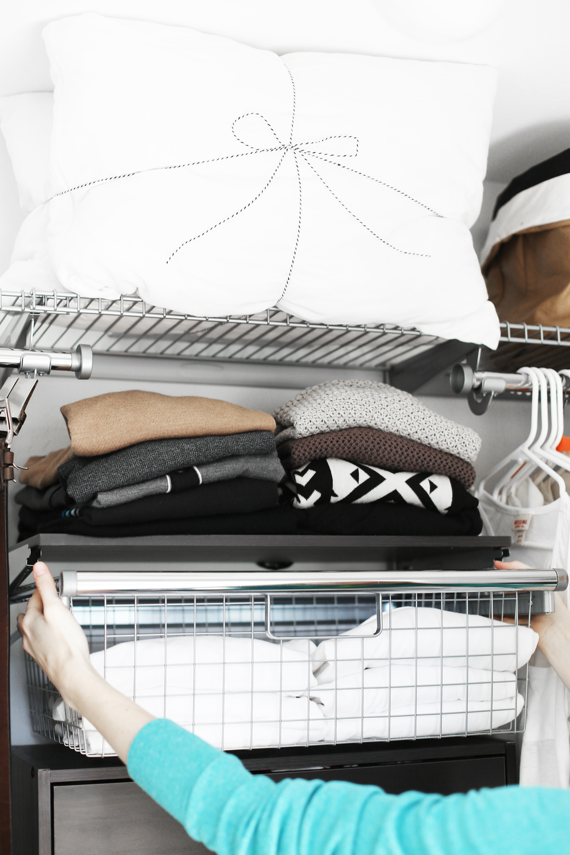 homefree closet kit installation - closet organization ideas