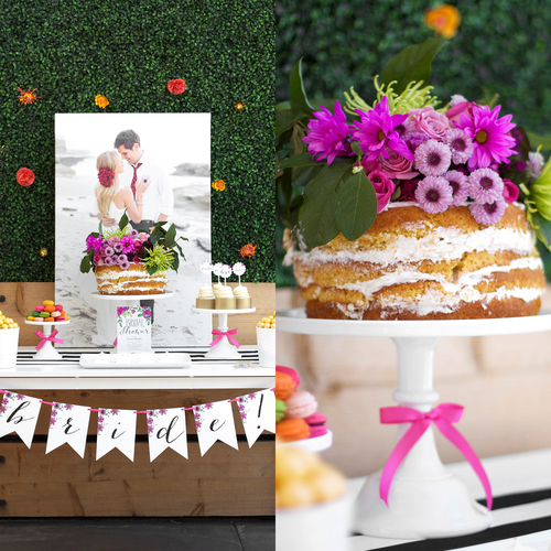 Garden Party Bridal Shower Party Printables Kristi Murphy DIY