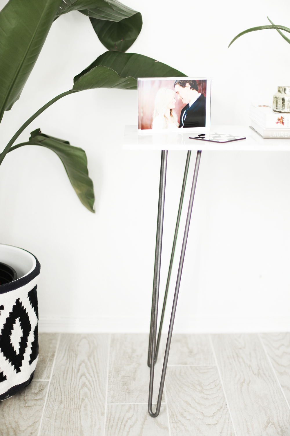 DIY marble nightstand