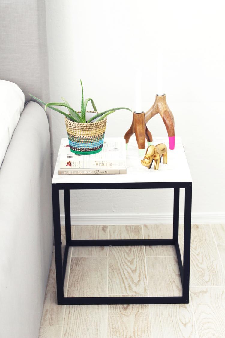 ikea furniture diy. DIY Nightstand Ikea Furniture Diy