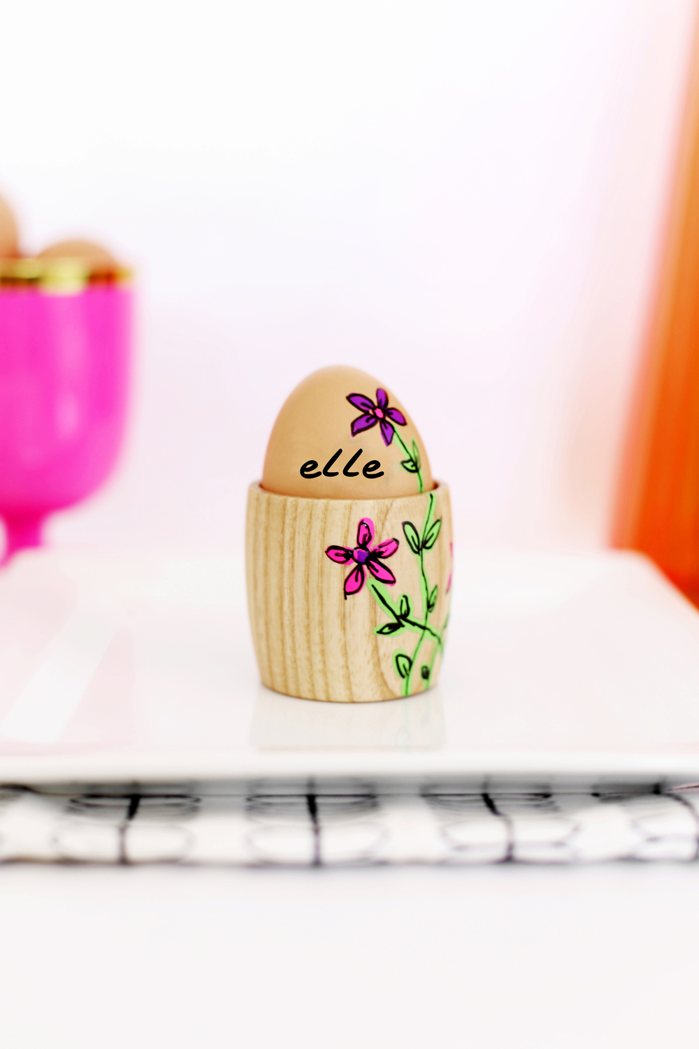 DIY Easter place cards
