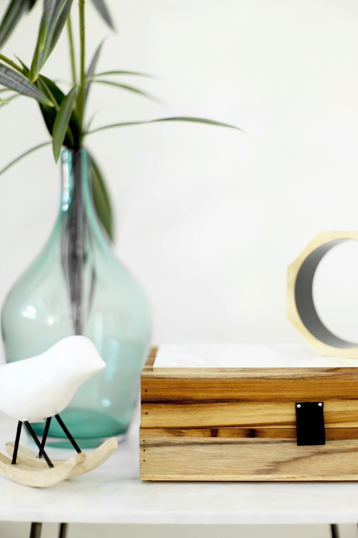 Decorative Boxes How To Make : Make a decorative box using two bath trays kristi murphy