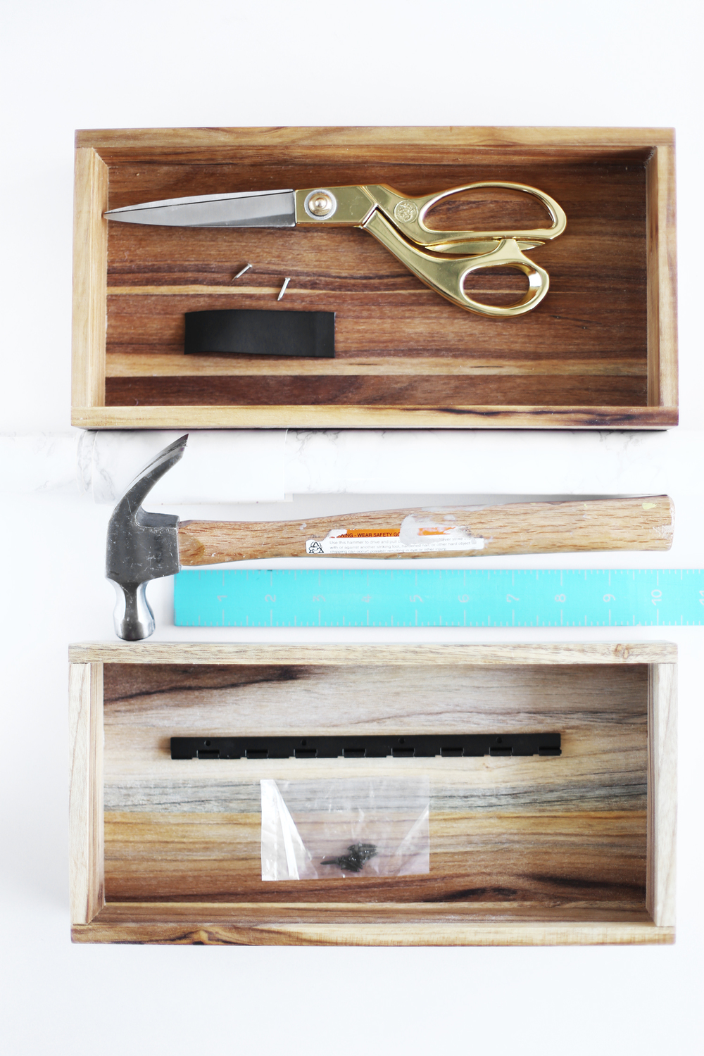 DIY decorative box supplies