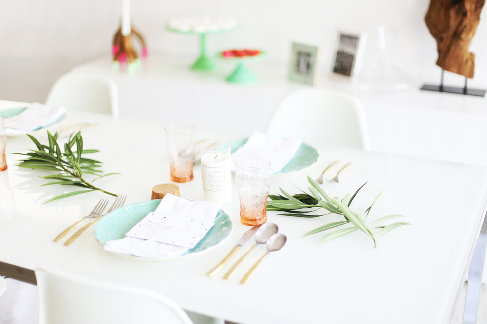 place setting ideas