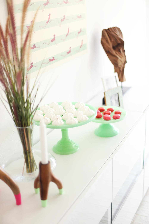 Jade Cake Stands