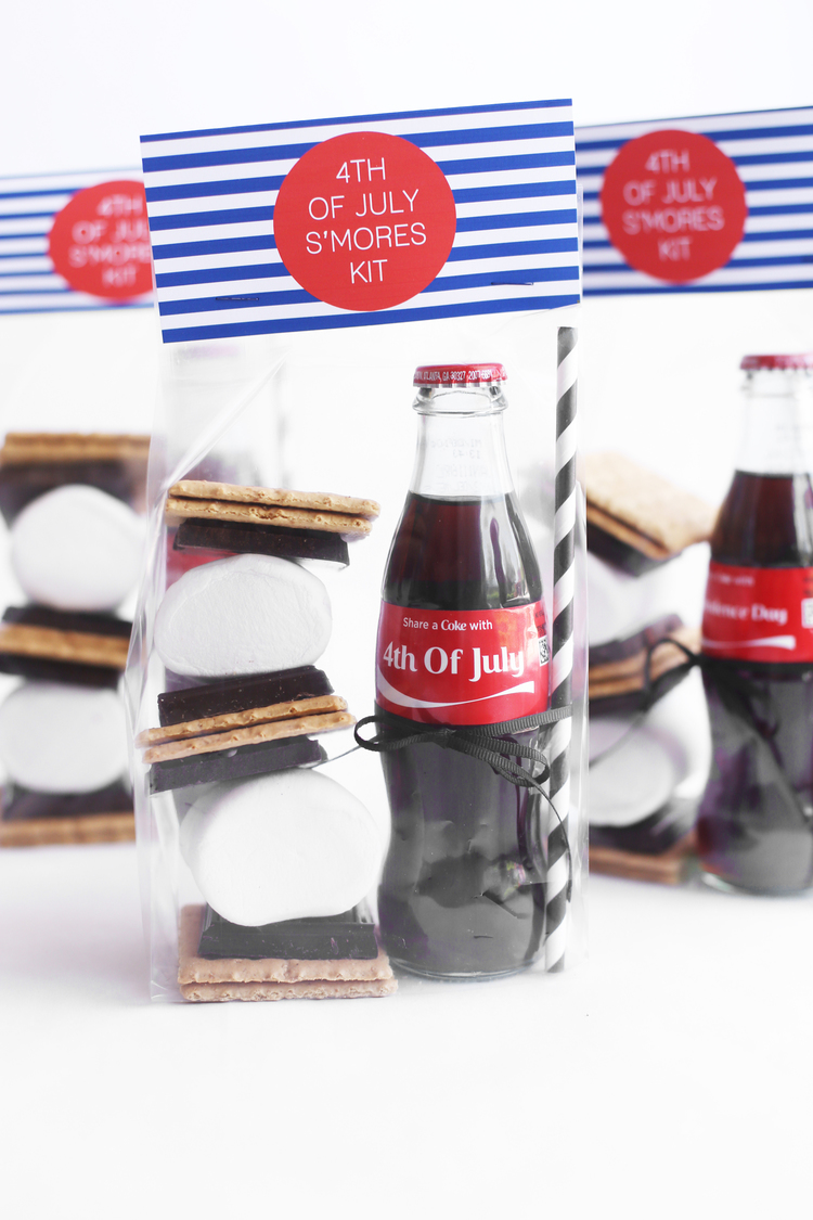 Diy 4th of July S'mores Kits