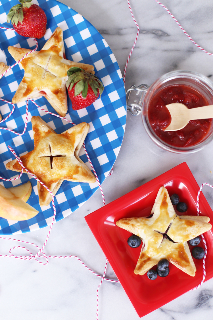 Apple + Berry Hand Pies