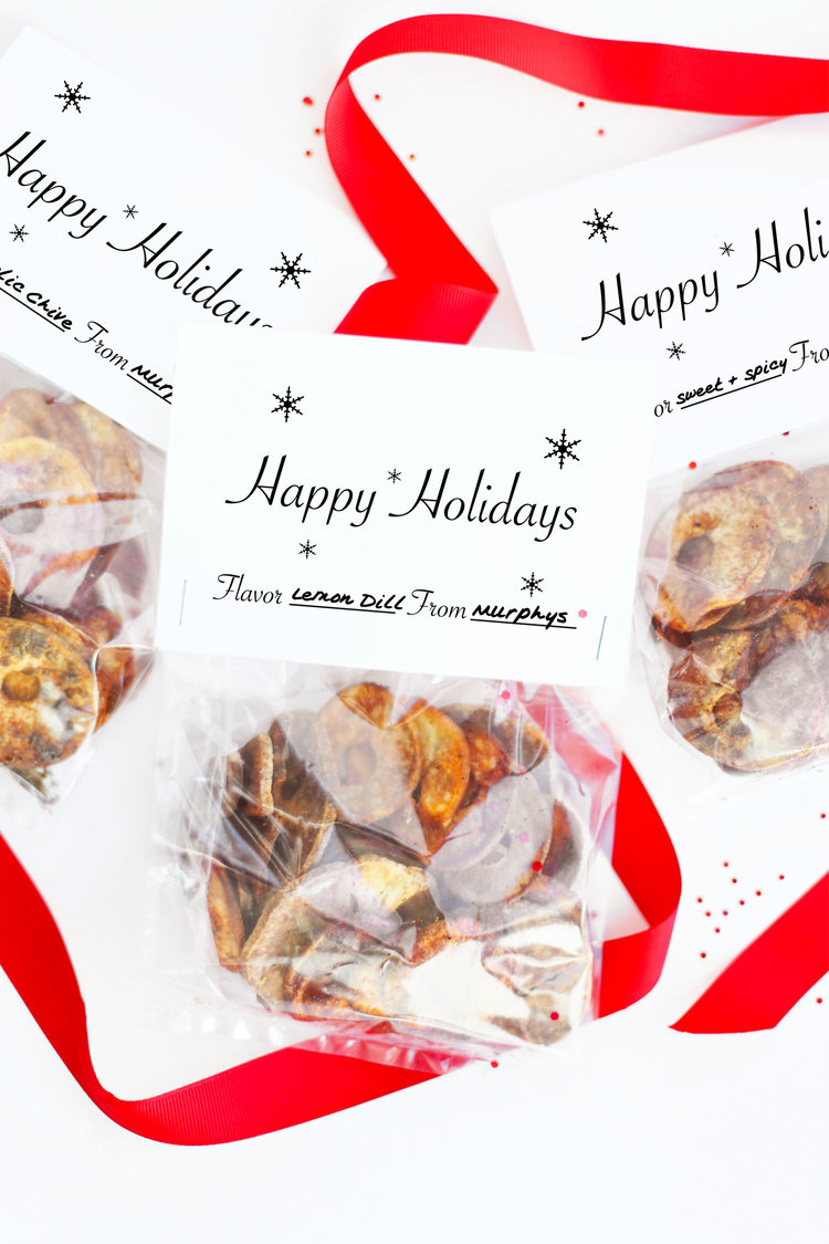 Homemade Potato Chip Holiday Favors or DIY Christmas Gift — Kristi ...