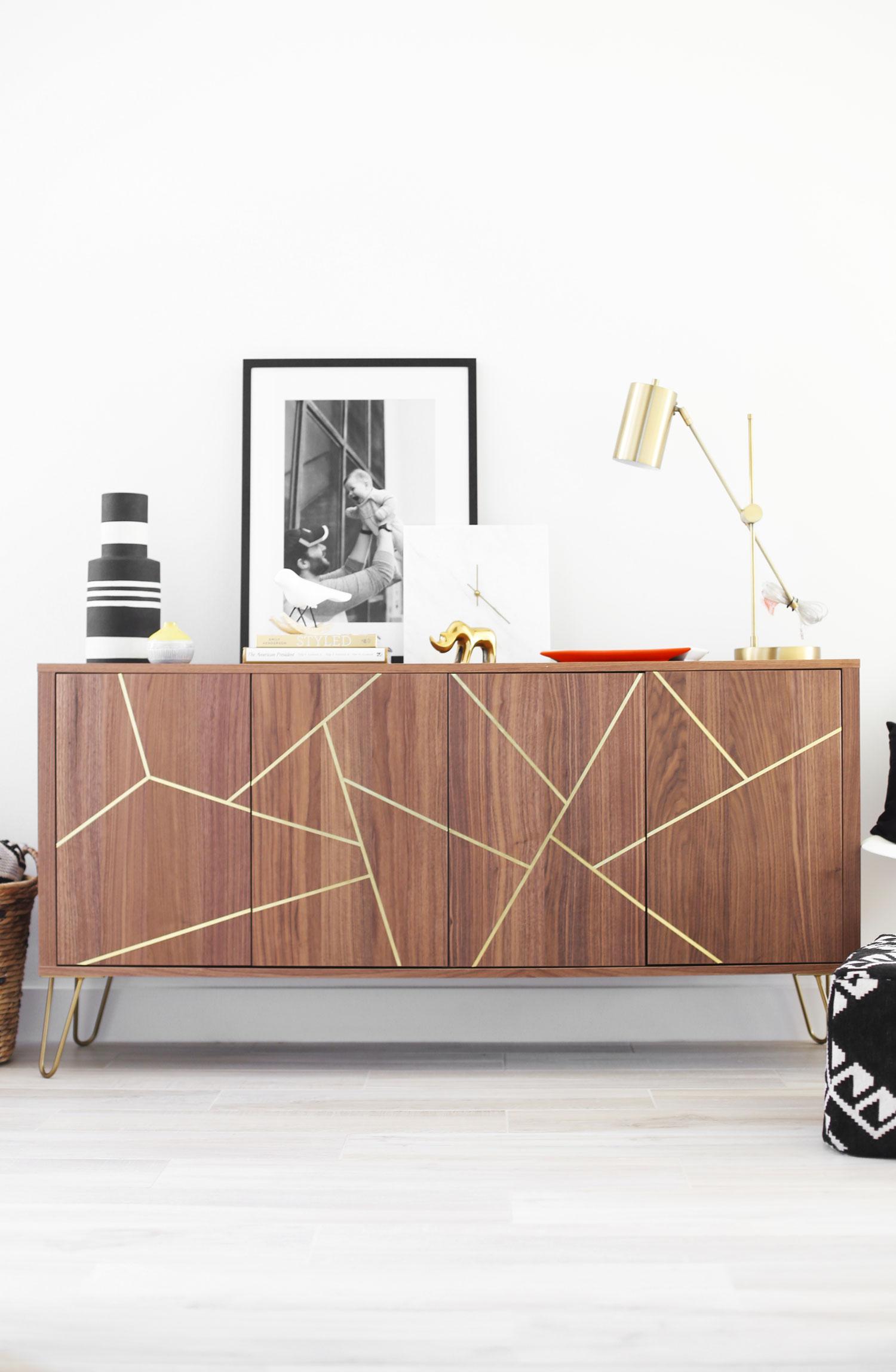Mid Century Modern Ikea Hack Sideboard Kristi Murphy Diy Blog