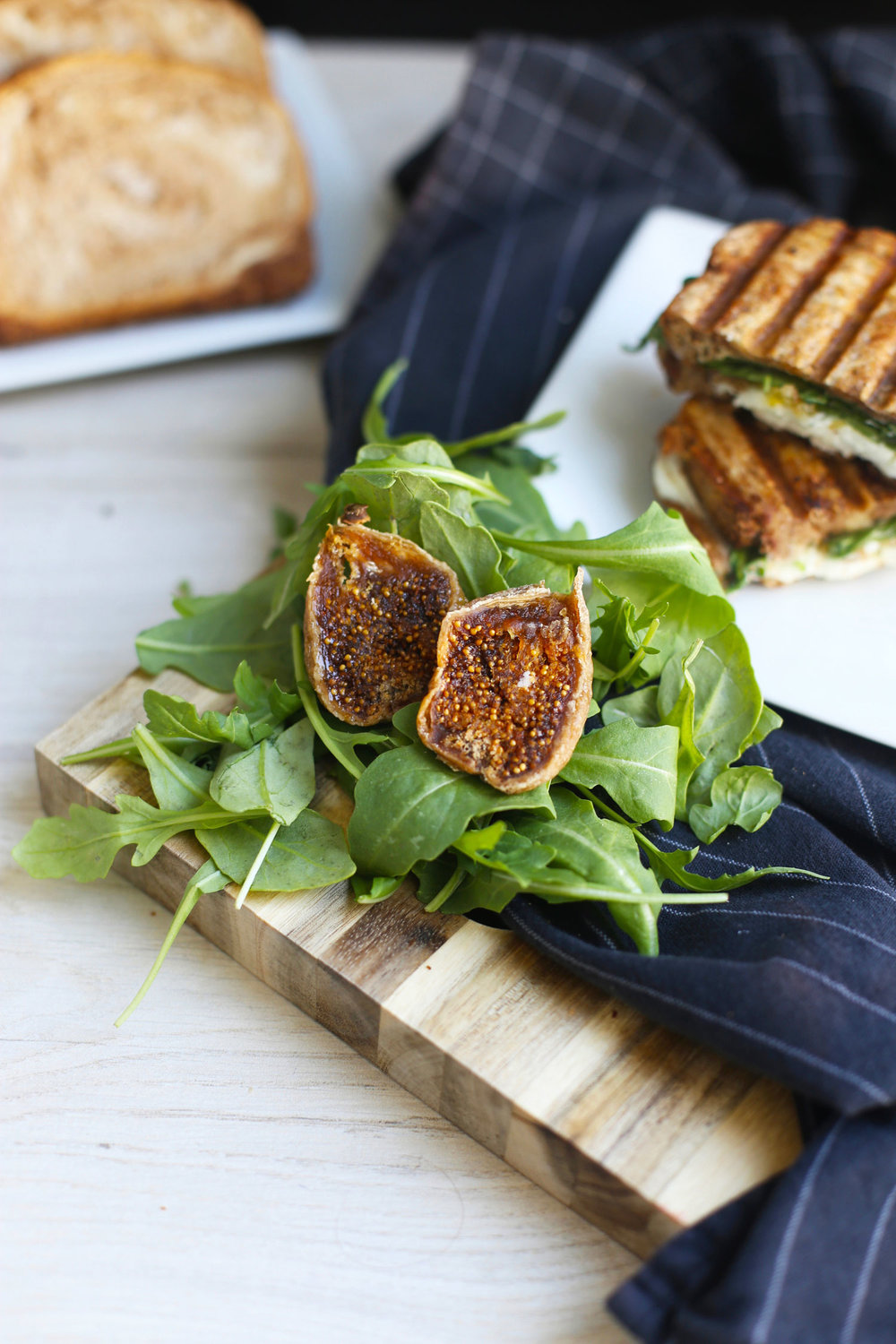 fig jam grilled cheese